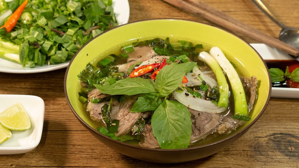 authentic pho recipe_final product